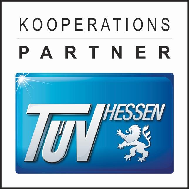 Die 3einhalb GmbH ist Kooperationsparter des TÜV Hessen